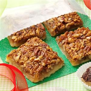 Favorite Pecan Pie Bars Recipe
