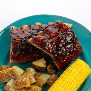 Orange BBQ Baby Back Ribs