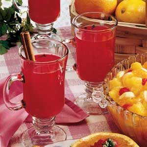 Hot Cranberry Drink Recipe