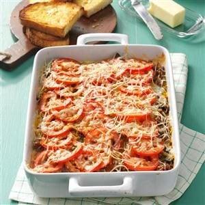 Italian Sausage Casserole Recipe