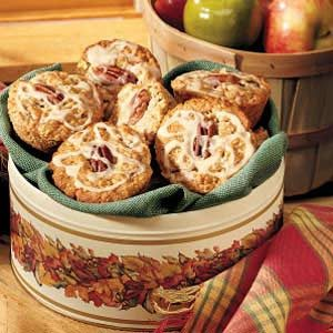 Maple-Drizzled Apple Muffins Recipe