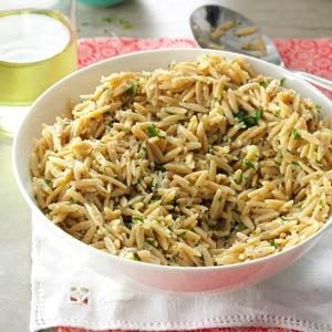 Lemon Parmesan Orzo Recipe