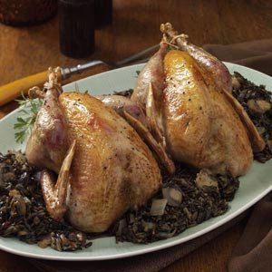 Pheasant and Wild Rice Recipe