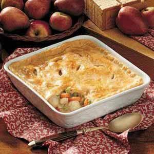 Pheasant Potpie Recipe