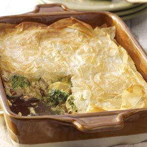 Phyllo Chicken