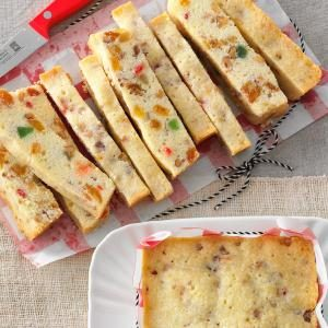 Holiday White Fruitcake Recipe