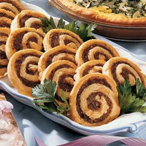 Sausage Swirls Recipe