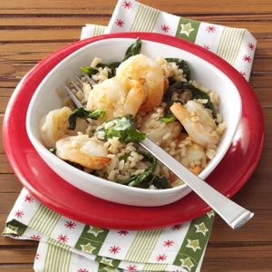 Garlic Shrimp and Rice Recipe