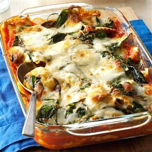 Weeknight Ravioli Lasagna Recipe