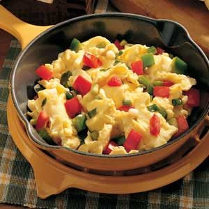 Vegetable Scrambled Eggs Recipe