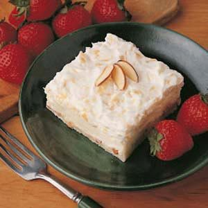 Pineapple Cheese Torte