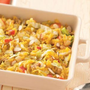 Acorn Cabbage Bake Recipe
