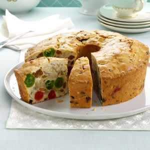 Makeover White Fruitcake