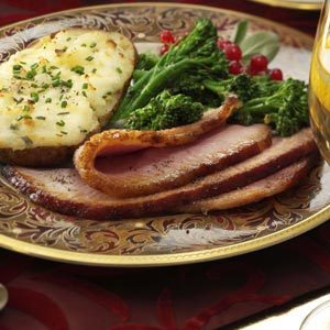 Apple-Glazed Holiday Ham Recipe
