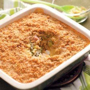 Asparagus and Ham Casserole Recipe