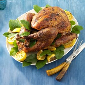 Spice-Rubbed Turkey Recipe