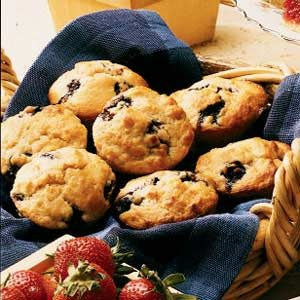 Cinnamon Blueberry Muffins Recipe