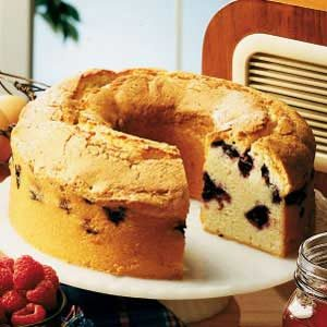 Blueberry Sour Cream Pound Cake Recipe