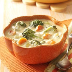 Cheese Broccoli Soup Recipe