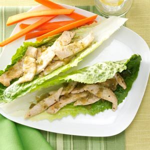 Turkey Verde Lettuce Wraps Recipe