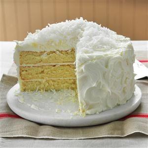 White Chocolate Fluffy Cake Recipe