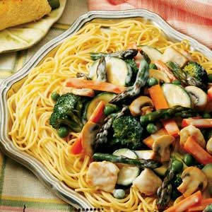 Chicken/Asparagus Pasta Supper Recipe