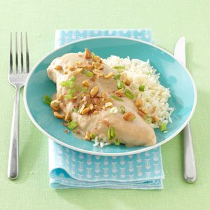 Baked Peanut Chicken Recipe