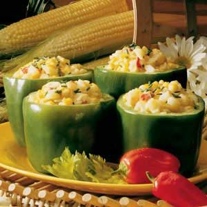 Corn-Stuffed Peppers Recipe