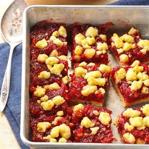 Cranberry-Orange Bars Recipe