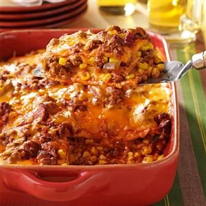 Watch Us Make: Enchilada Casserole