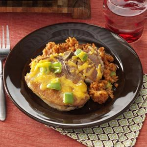 Pork Chops Ole Recipe