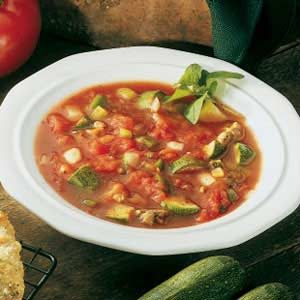 Italian Zucchini Soup Recipe photo by Taste of Home