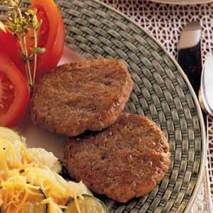 Pork Patties Recipe