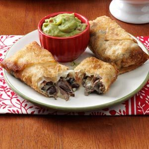 Mini Beef Chimichangas Recipe