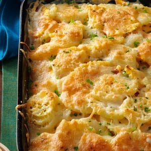 Au Gratin Potatoes with Squash Recipe