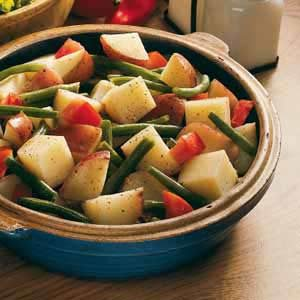 Red, White and Green Salad Recipe