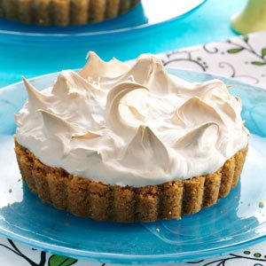 Key Lime Marshmallow Meringue Tarts
