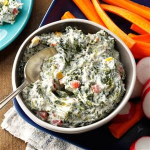 Healthy Spinach Dip Recipe photo by Taste of Home