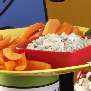 Zesty Spinach Dip Recipe