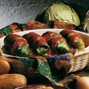 Beef Stuffed Cabbage Rolls Recipe