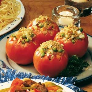 Stuffed Garden Tomatoes Recipe