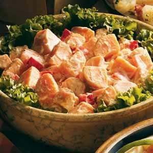 Mom's Sweet Potato Salad Recipe