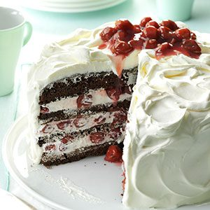 German Black Forest Cake Recipe Taste of Home