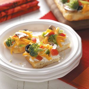 Vegetable Appetizer Pizza Recipe