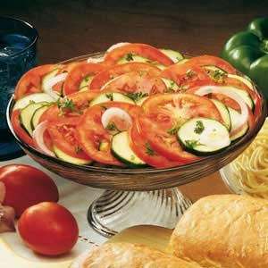 Zesty Tomato Zucchini Toss Recipe