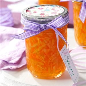 Zucchini Peach Jelly Recipe