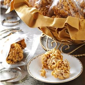 Puffed Wheat Balls Recipe