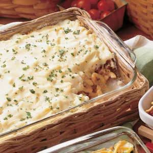 Beef Pastitsio Recipe