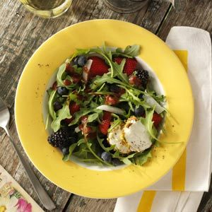 Arugula Salad with Berry Dressing Recipe