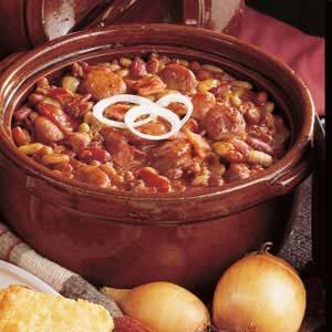 Campfire Beans Recipe